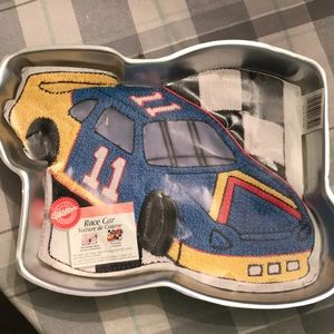 Wilton Race Car Cake Pan